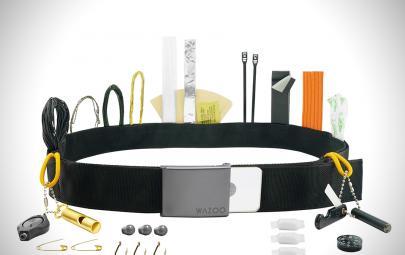 Cache 生存腰带—你造吗?这款腰带有27种功能,堪比变形金刚