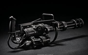 CA M134 Mircogun sport运动版气电混合小火神炮