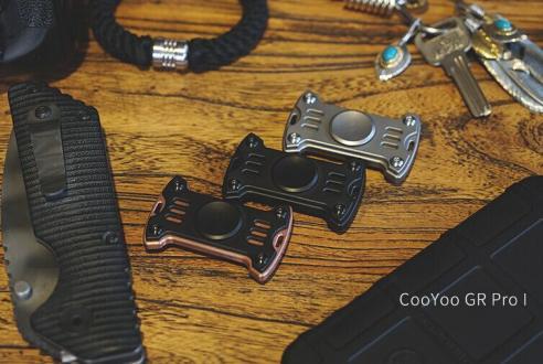 CooYoo GR Pro-I指尖陀螺 EDC手指玩物抗压神器