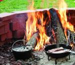 LODGE铸铁煎锅 不挑炉具户外家用皆适宜