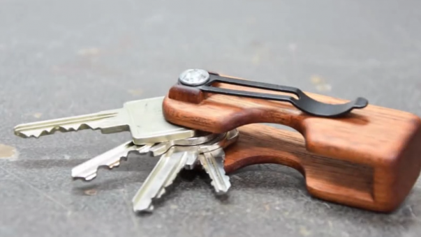 【视频】手工DIY:自己动手做钥匙收纳EDC