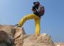 超弹 透气 防水 -----凯乐石9a户外攀岩弹力裤