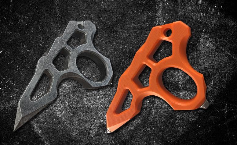 FS指虎四指拳刺高硬度G10和高硬度钛合金EDC破窗逃生锥