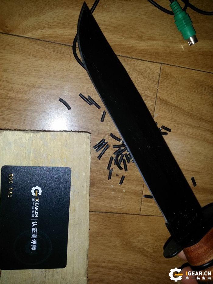 歪把子的二战军刀情结—卡巴1217测评报告