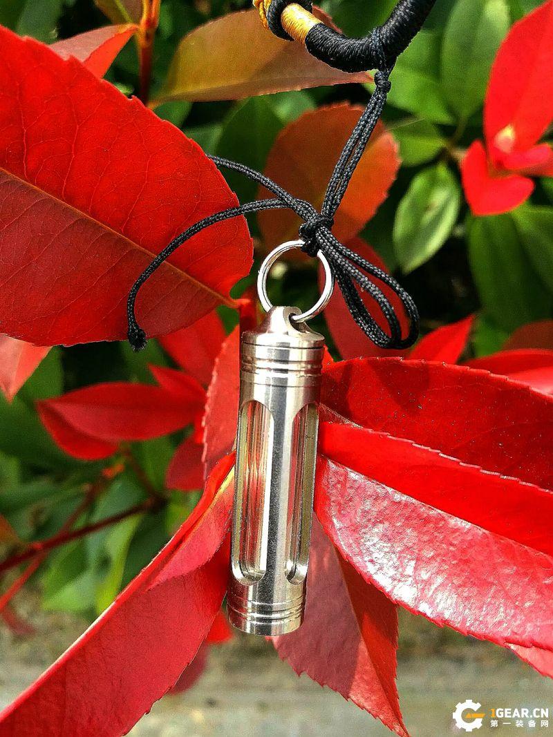 VOLLSION TL123钛合金氚气管信号灯---小巧玲珑 闪烁永恒