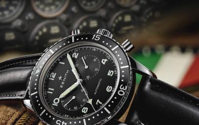 真力时传承系列TIPO CP-2计时码腕表