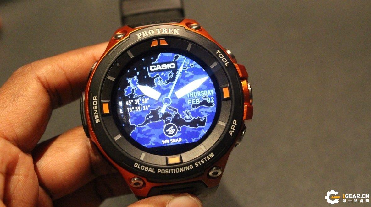 RunIQ智能运动手表 不考虑续航的话很完美
