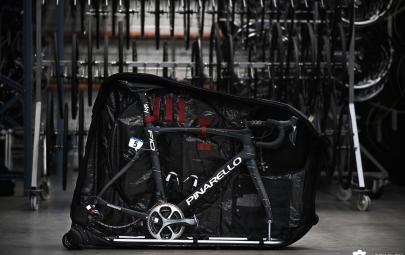 Douchebags自行车旅行袋 原来自行车也可收纳