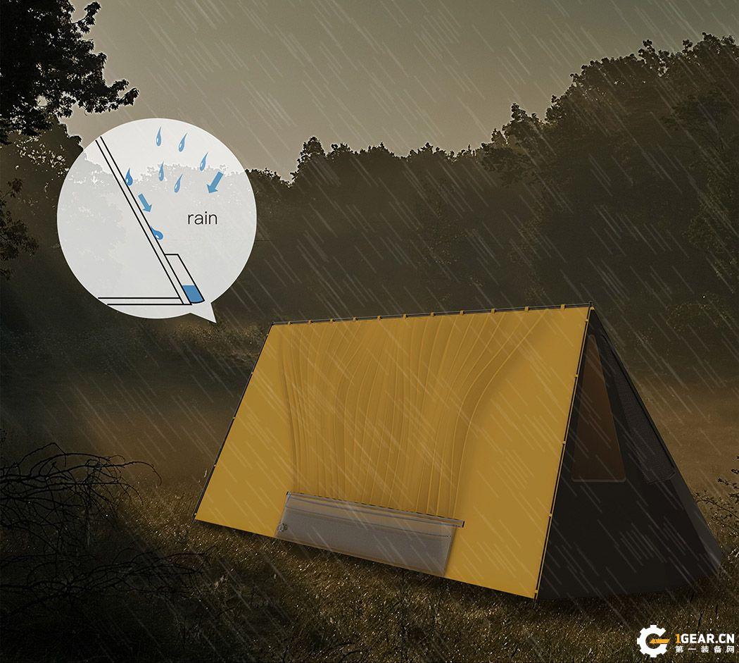 The Thirst Quenching Tent集水户外帐篷 有它你的野外喝水不愁
