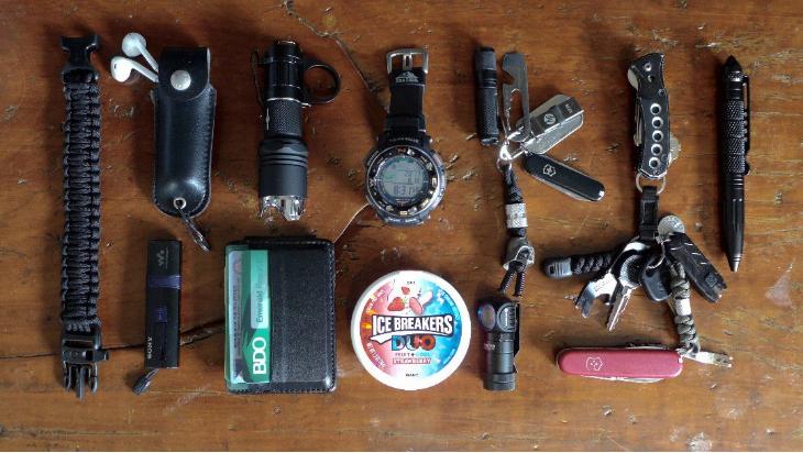 EDC玩家随身带的装备都属于哪些品牌?