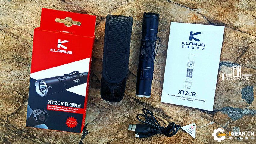 亮度尖兵 多用途的经典小直 KLARUS/凯瑞兹XT2CR手电测评