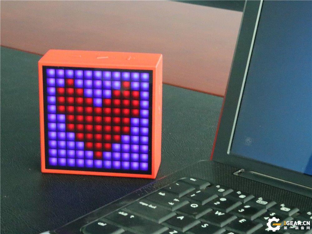 Divoom Timebox-mimi蓝牙音箱,智能最新玩法