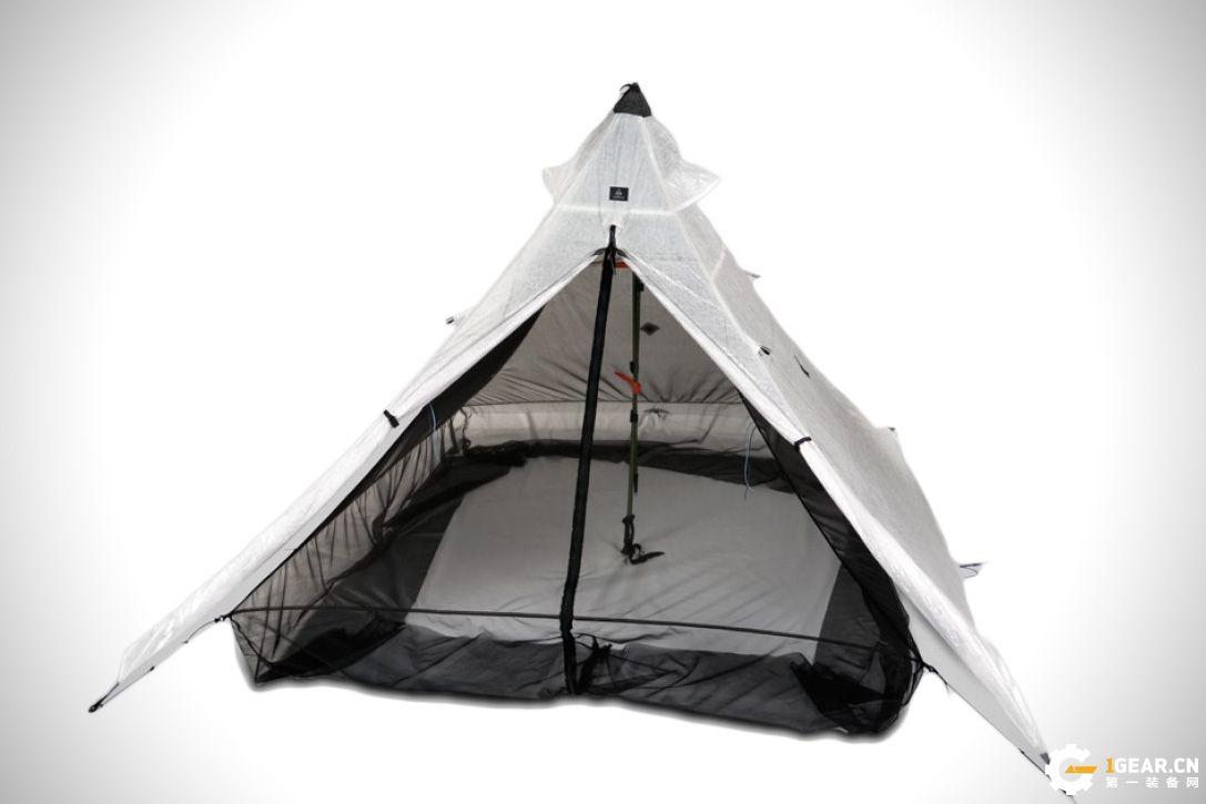 Hyperlite金字塔双人帐篷 造型独特空间大