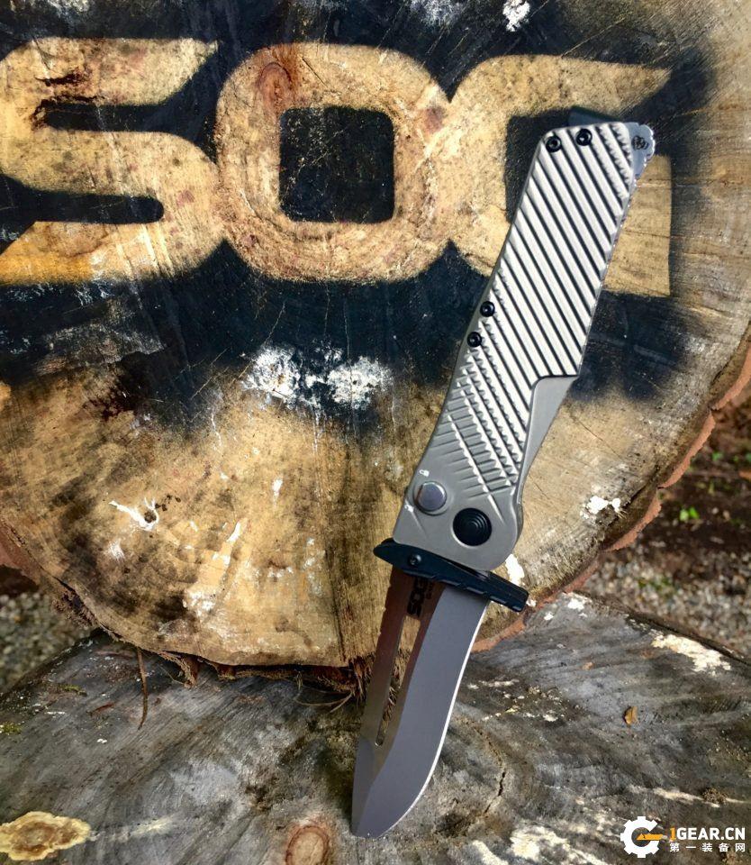 SOG Quake折刀  带来不一样的操刀体验