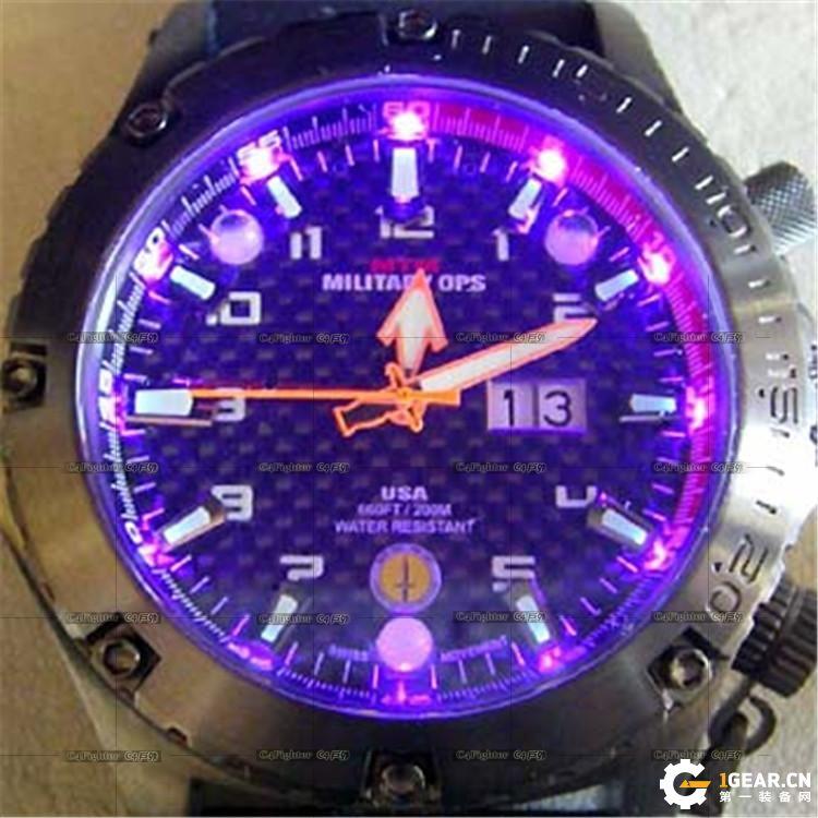 MTMSPECIALOPS VULTURE秃鹫LED灯充电腕表