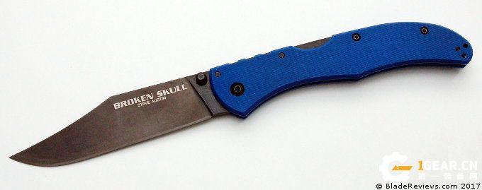 """这就是最""""名不副实""""的折刀---冷钢Broken Skull测评"""