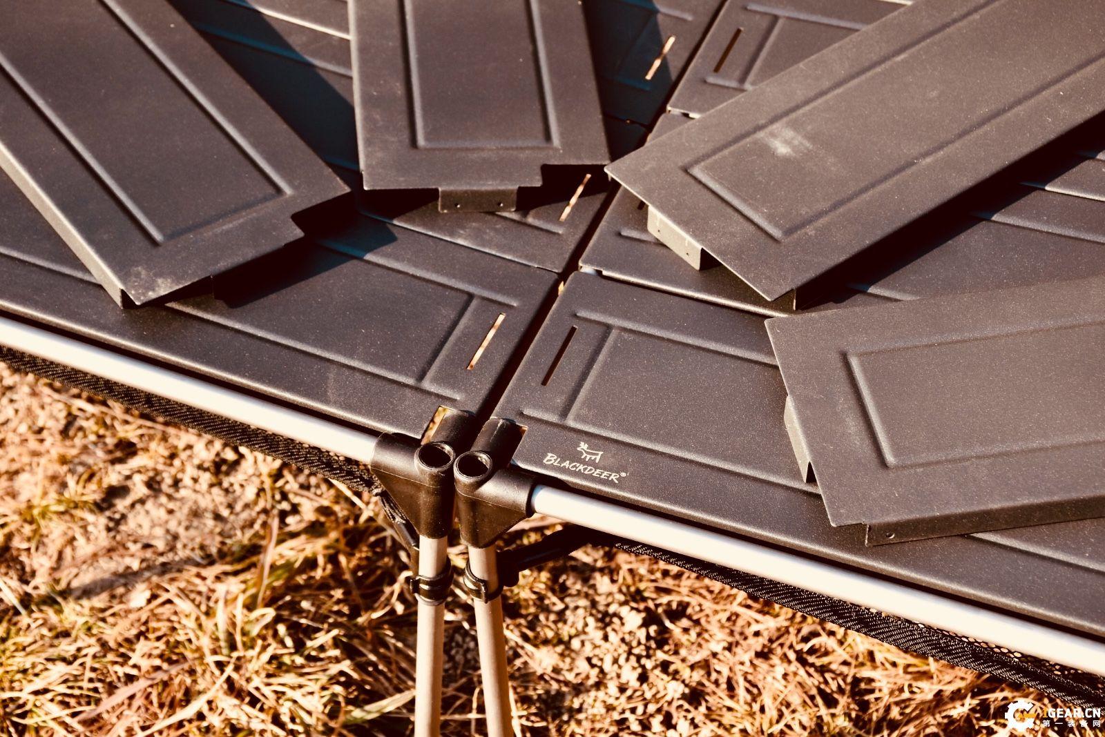 出去野除了疯玩,还要颜值--黑鹿几何折叠桌体验