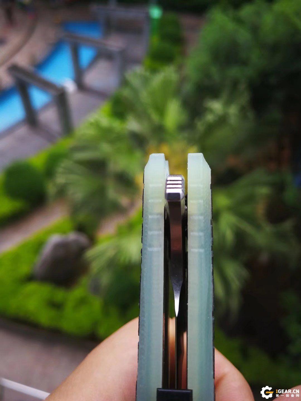 国产SD黑花透明G10柄BG01使用测评