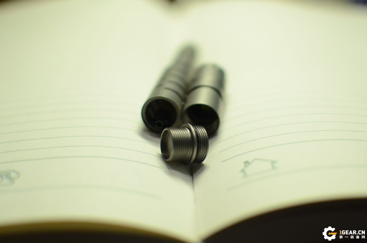 掌握光明 笔耕不辍——Klarus凯瑞兹TP20 Ti战术笔灯使用体验