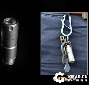 随身可携带的防身装备,Klarus凯瑞兹TP20 Ti 战术笔灯体验